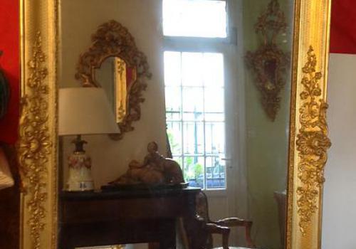 Miroir époque restauration