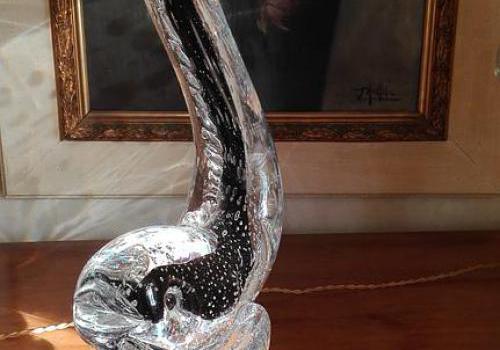 Dauphin en cristal