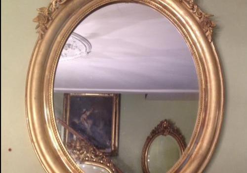 miroir ovale N3