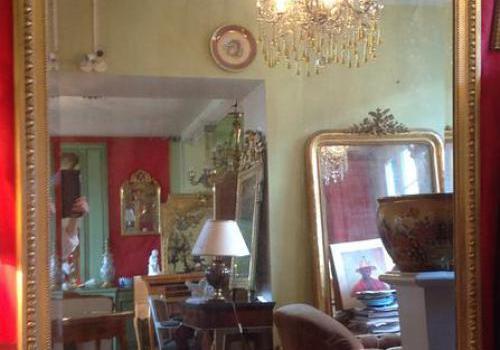 Miroir style Louis XVI époque XIX eme