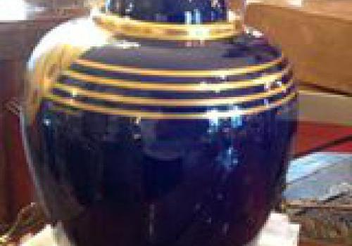 Potiche porcelaine de  PINON-HEUSÉ