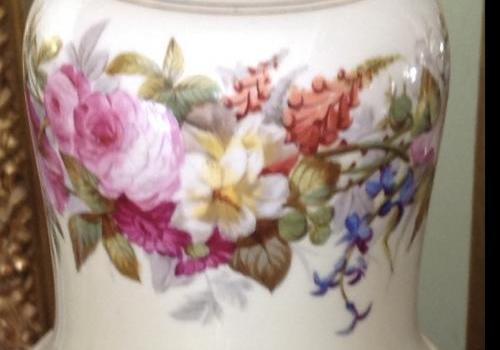 Pied de lampe en porcelaine N3